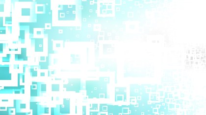 Abstract Blue and White Square Background Vector Graphic