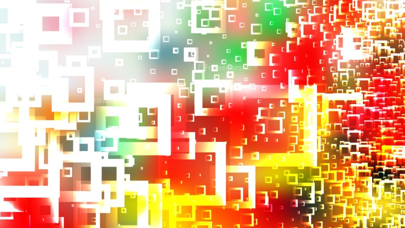 Colorful Square Modern Background Vector Art