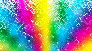 Abstract Colorful Square Modern Background