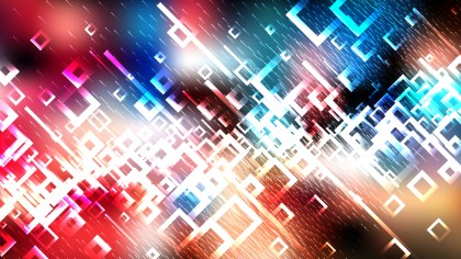 Abstract Dark Color Square Background Design