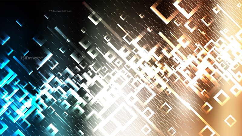 Abstract Dark Color Modern Square Background Image