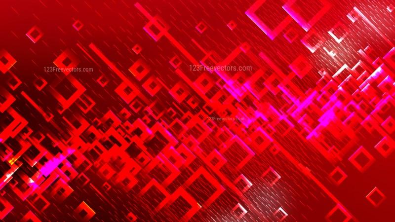 Dark Red Modern Square Background