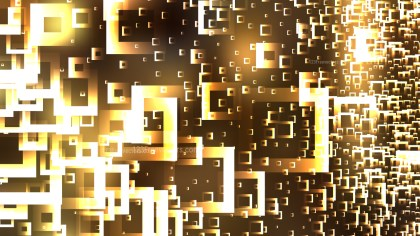 Gold Abstract Modern Square Background