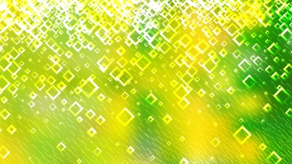 Green and Yellow Abstract Modern Square Background