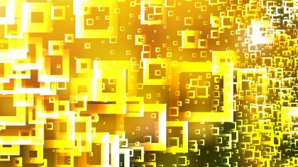 Orange and Yellow Square Modern Background