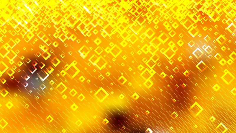 Modern Orange and Yellow Square Abstract Background