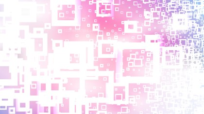 Abstract Pink and White Modern Square Background