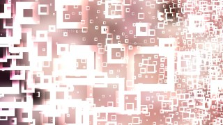 Pink and White Modern Square Background Design