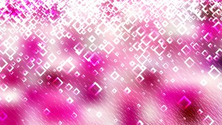 Pink and White Modern Square Abstract Background