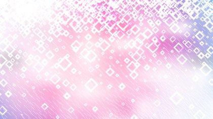 Modern Abstract Pink and White Squares Background