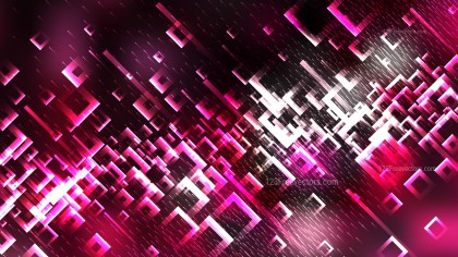 Abstract Pink Black and White Square Modern Background