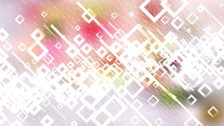 Pink Green and White Squares Abstract Background Vector Graphic