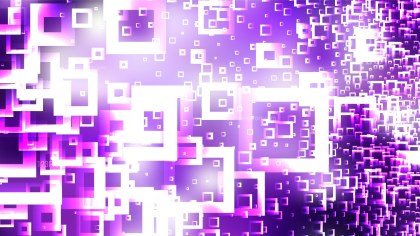 Purple and White Square Modern Background
