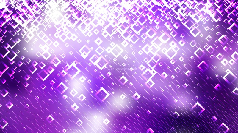 Abstract Purple and White Square Background Illustrator