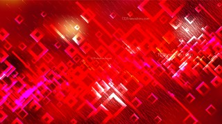 Red Modern Square Abstract Background