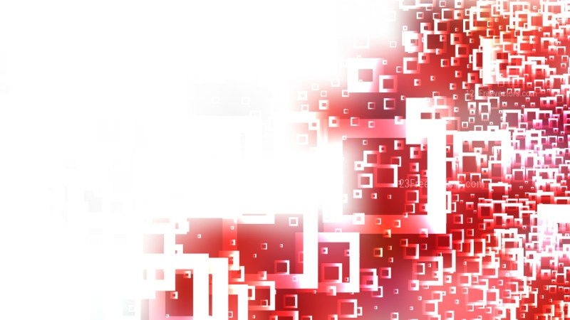 Red and White Square Modern Background Image