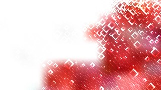 Modern Red and White Square Background