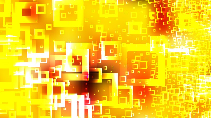 Modern Red and Yellow Square Background Illustrator