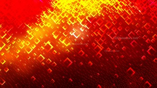 Red and Yellow Modern Square Background