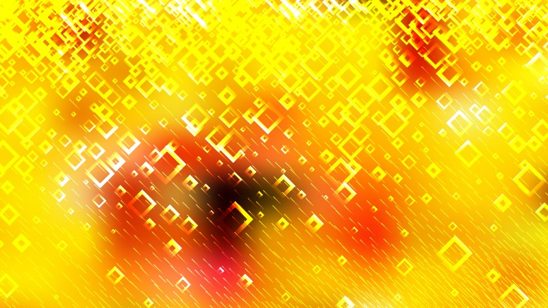 Abstract Red and Yellow Square Background