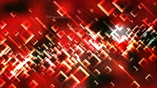 Red Black and White Squares Abstract Background