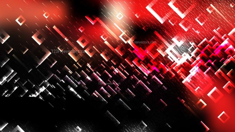 Red Black and White Square Modern Background Illustration
