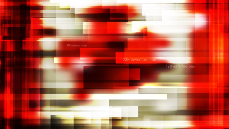 Abstract Beige and Red Geometric Shapes Background