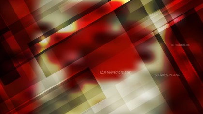 Beige and Red Geometric Abstract Background Vector Illustration