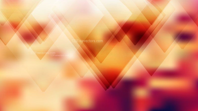 Beige and Red Geometric Background Design