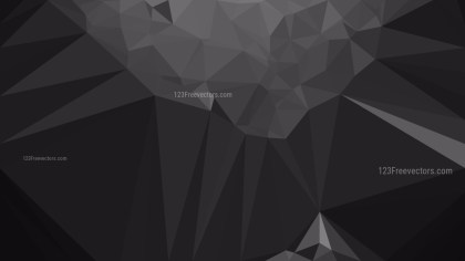 Black Geometric Background