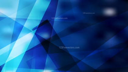 Abstract Black and Blue Modern Geometric Shapes Background Graphic