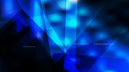Black and Blue Modern Geometric Background