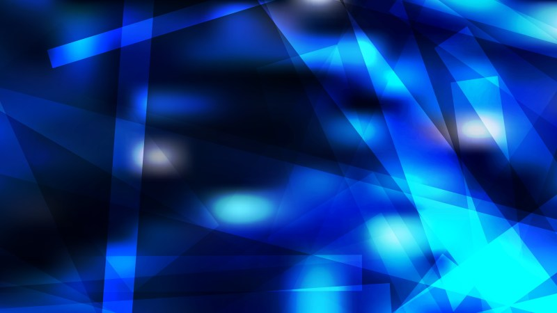 Black and Blue Modern Geometric Shapes Background Image