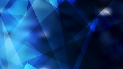 Black and Blue Geometric Abstract Background Vector Illustration