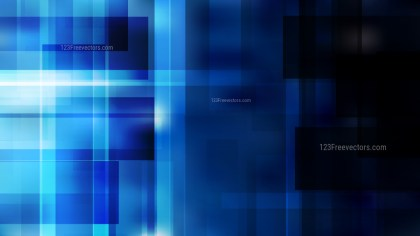 Abstract Black and Blue Geometric Background