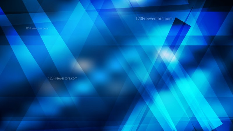 Abstract Black and Blue Geometric Shapes Background Vector Illustration