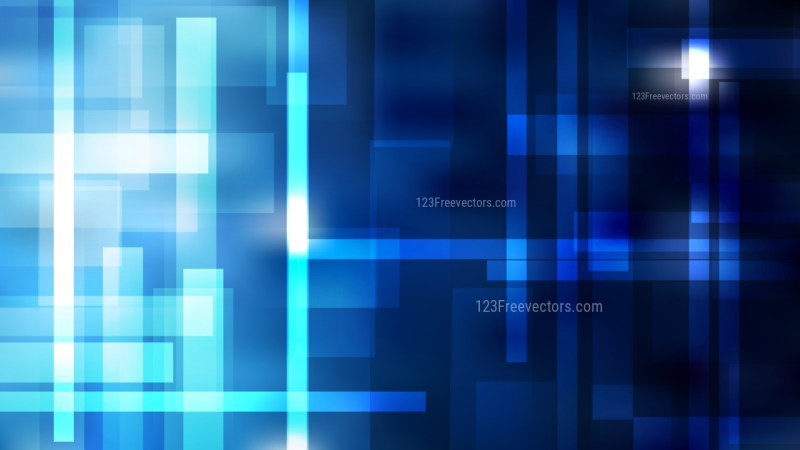 Black and Blue Geometric Abstract Background