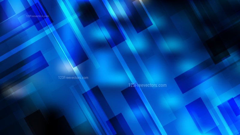 Black and Blue Modern Geometric Background Image