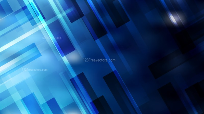 Geometric Abstract Black and Blue Background