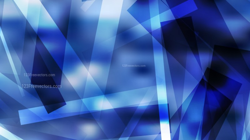Abstract Black and Blue Modern Geometric Shapes Background