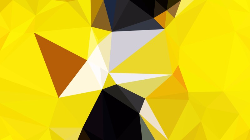 Abstract Black and Yellow Modern Geometric Background