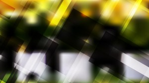 Abstract Geometric Black Green and Yellow Background Vector Art