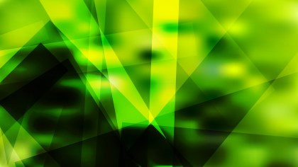 Black Green and Yellow Geometric Background Illustrator