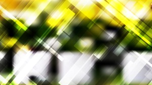 Abstract Black Green and Yellow Modern Geometric Shapes Background Vector Graphic