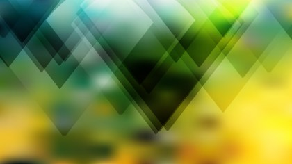 Black Green and Yellow Geometric Shapes Background Design