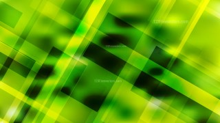 Abstract Black Green and Yellow Lines Stripes and Shapes Background