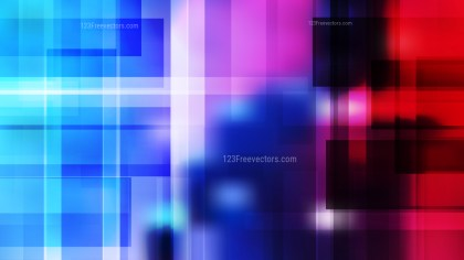 Abstract Black Pink and Blue Geometric Background Vector Art