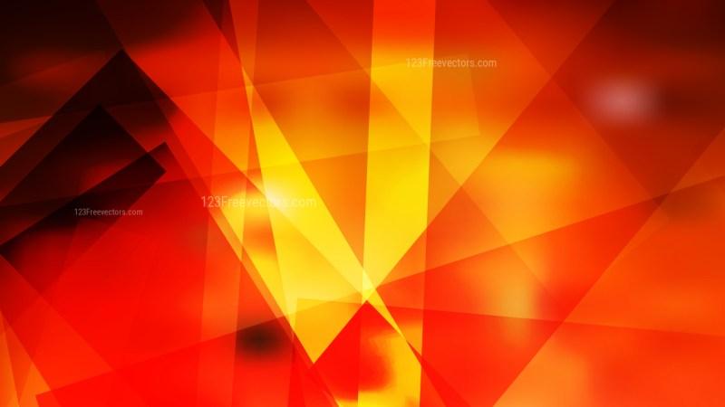 Black Red and Yellow Lines Stripes and Shapes Background