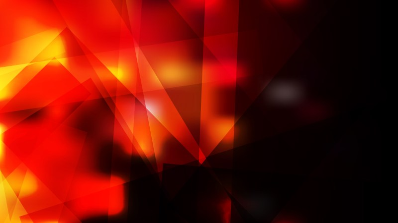 Abstract Black Red and Yellow Geometric Background