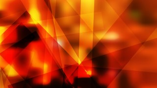 Abstract Geometric Black Red and Yellow Background Vector Image